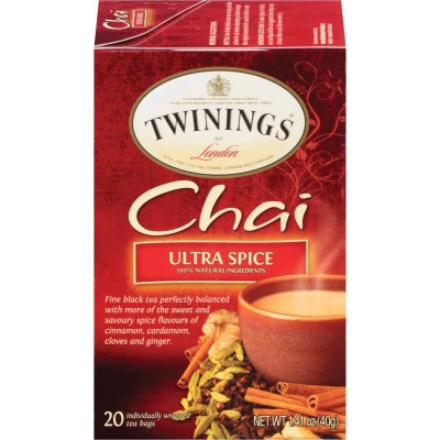 Twinings of London Ultra Spice Chai Tea