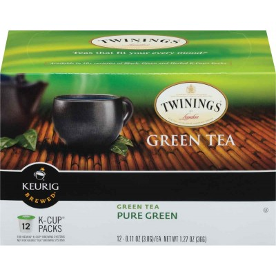 Twinings of London K Cup Pure Green Tea