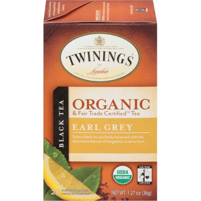 Twinings of London Organic Earl Grey Tea