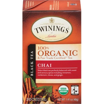 Twinings of London Organic Chai Tea