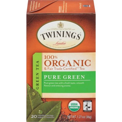 Twinings of London Organic Pure Green Tea