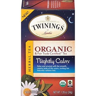 Twinings of London Organic Nightly Calm Tea