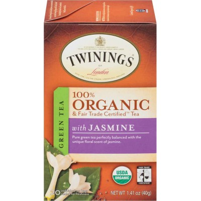 Twinings of London Organic Green Jasmine Tea