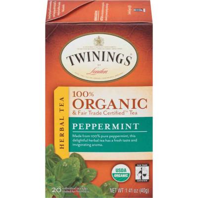 Twinings of London Organic Peppermint Tea