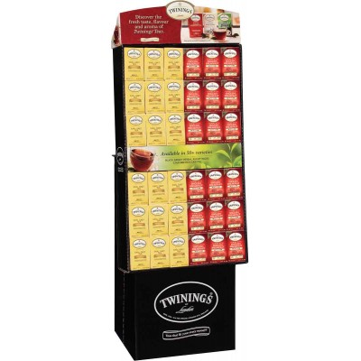 Twinings of London Decaffeinated Classic Variety Floor Display