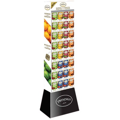 Twinings of London Wellness Tea 4 Assorted Display