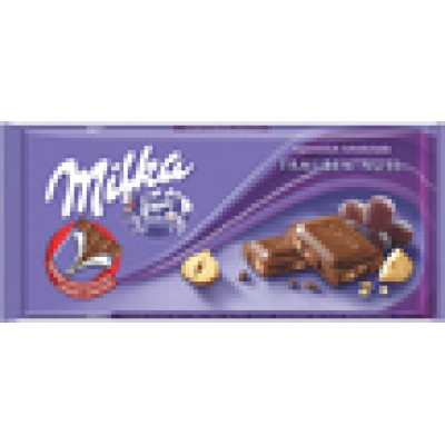 Milka Raisins and Nut Chocolate Bar