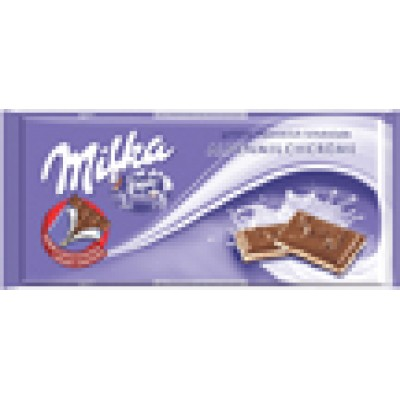 Milka Alpenmilch and Creme Chocolate Bar