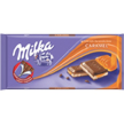 Milka Caramel Filled Chocolate Bar