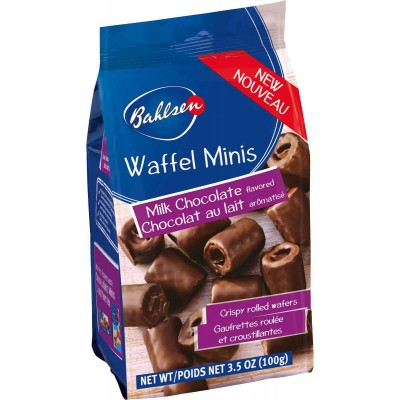 Bahlsen Milk Chocolate Waffles Mini Bag