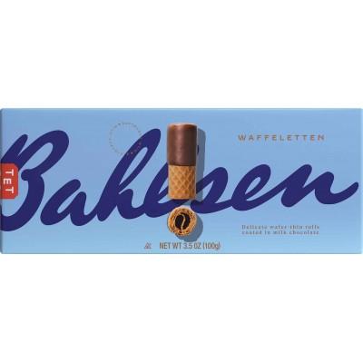 Bahlsen Milk Chocolate Wafer Rolls Cookie Box