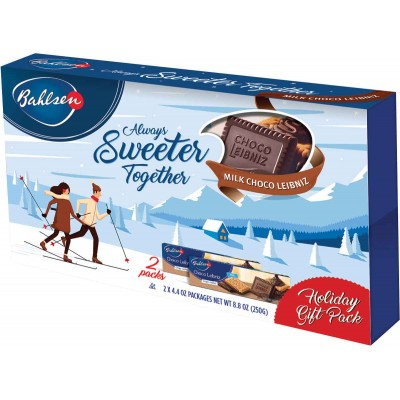 Bahlsen ChocoLeibniz Milk Holiday 2 Pack