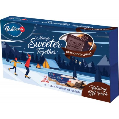 Bahlsen ChocoLeibniz Dark Holiday 2 Pack