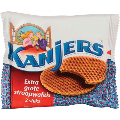 Kanjers 100% Butter Syrup Wafers
