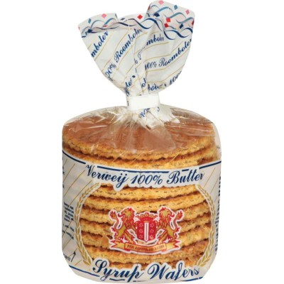 Verweij 100% Butter Syrup Wafers