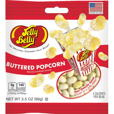 Jelly Belly Buttered Popcorn Peg Bag