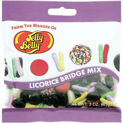 Jelly Belly Licorice Bridge Peg Bag Mix