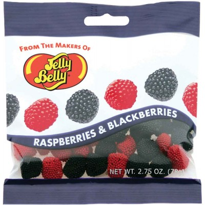 Jelly Belly Raspberry Blackberry Peg Bag Mix