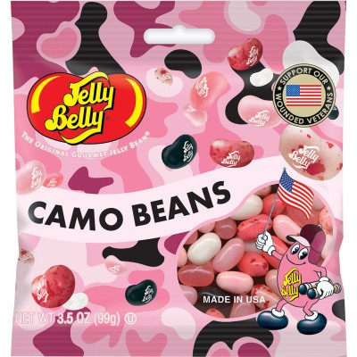 Jelly Belly Pink Camo Peg Bag