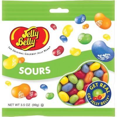 Jelly Belly Sours Peg Bag