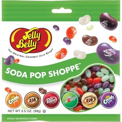 Jelly Belly Soda Pop Shoppe Peg Bag