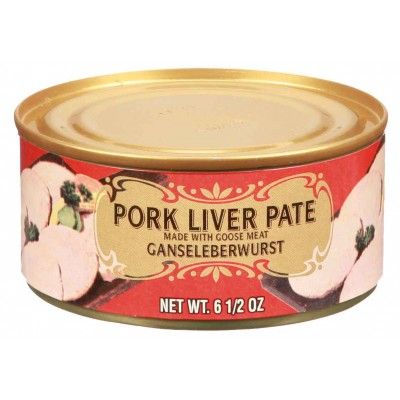 Geiers Pork Liver Pate and Goose Meat