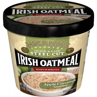 McCanns Apple Cinnamon Instant Oatmeal Cup