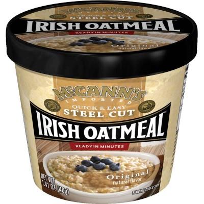 McCanns Original Instant Oatmeal Cup