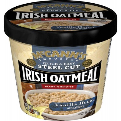 McCanns Vanilla Honey Instant Oatmeal Cup
