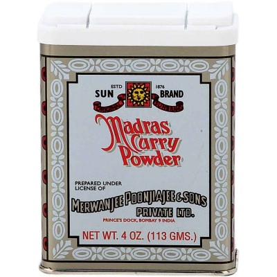 Sun Brand Madras Curry Powder Spice