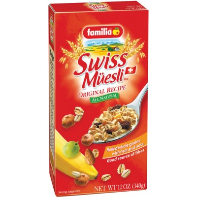 Familia Original Swiss Muesli with Fruit & Nuts