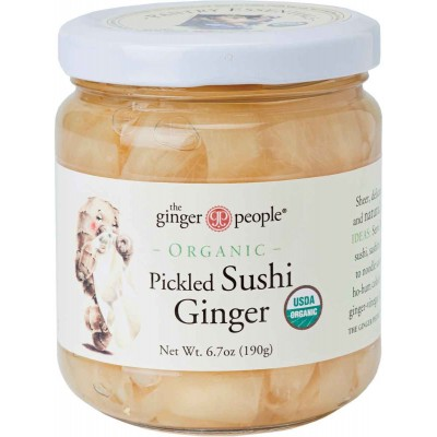 Ginger People Organic Pickled Sushi Ginger