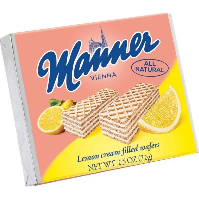 Manner Lemon Wafer Cookie Single Serve