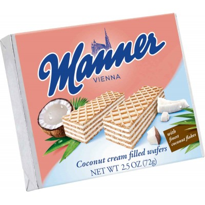 Manner Coconut Wafer Cookies