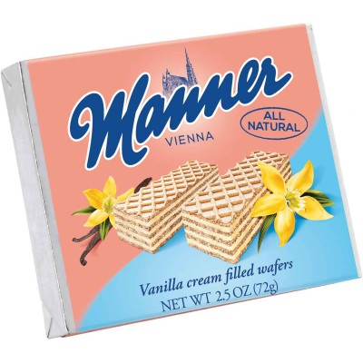 Manner Vanilla Wafer Cookie Single Serve