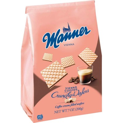 Manner Vienna Coffee Wafer Cookie Bag