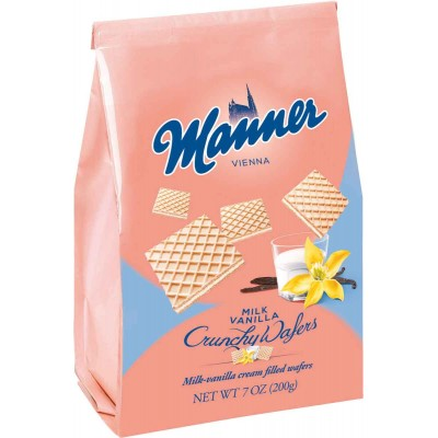 Manner Milk Vanilla Wafer Cookie Bag