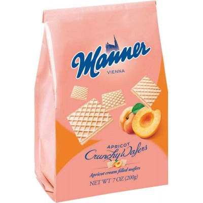 Manner Apricot Wafer Cookie Bag
