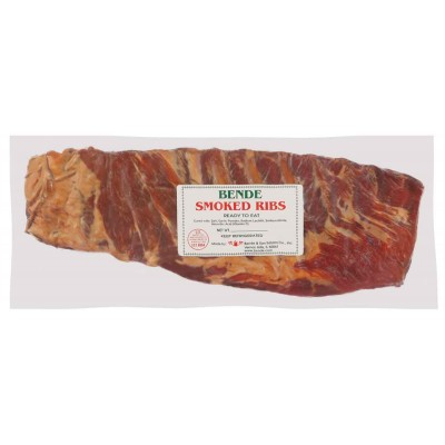 Bende Smoked Ribs Vac-Pack