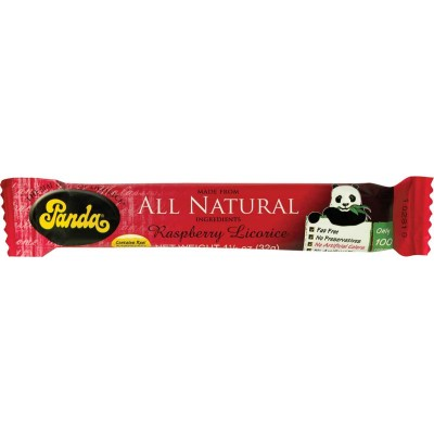 Panda Raspberry Licorice Bar