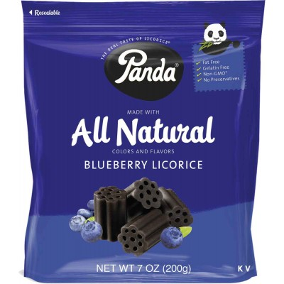 Panda Blueberry Chews Bag