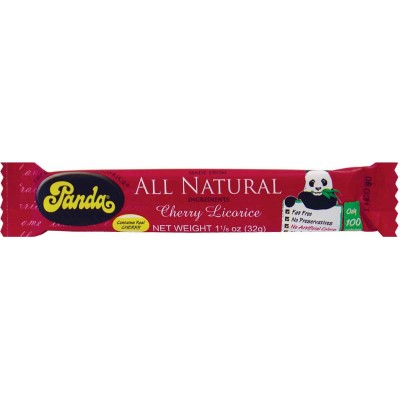 Panda Cherry Licorice Bar