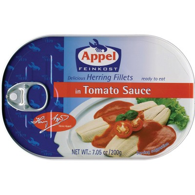 Appel Herring in Tomato Sauce