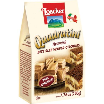 Loacker Tiramisu Wafer Cube Bag