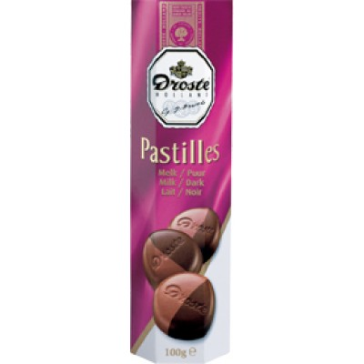 Droste Milk and Dark Pastille Rolls