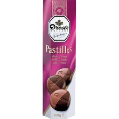 Droste Milk and Dark Pastille Rolls