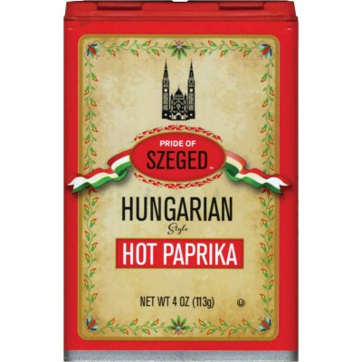 Szeged Hot Paprika Spice Tin