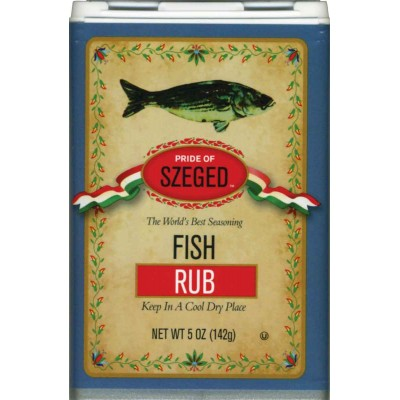 Szeged Fish Rub Seasoning