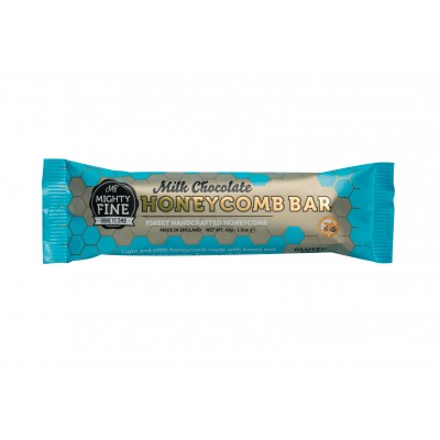 Mighty Fine Kitchens Milk Chocolate Honeycomb Bar