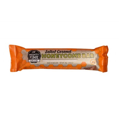 Mighty FIne Kitchens Salted Caramel Honeycomb Bar